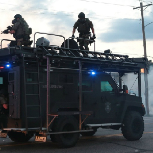 MRAP and police