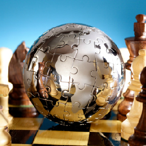 globe chess game puzzle