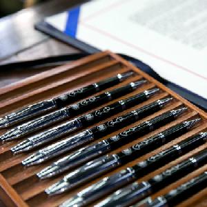 Obama's pens