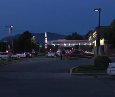 7-Eleven where Dillon Taylor was shot.