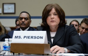 United States Secret Service director Julia Pierson testifies at a hearing about the White House perimeter breach at the Rayburn Building in Washington, D.C., on Tuesday, Sept. 30, 2014. On Sept. 19, 2014, an armed intruder entered the North Portico of the White House. (Olivier Douliery/Abaca Press/MCT)