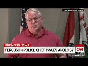 Video thumbnail for youtube video Ferguson police chief apologizes to Michael Brown's family in video - Personal Liberty