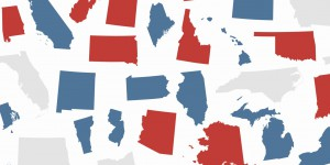 red states and blue states