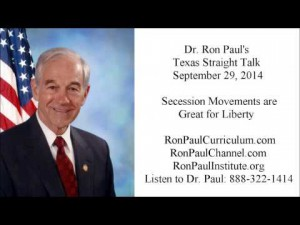 Video thumbnail for youtube video Ron Paul: Scottish independence vote gives reason for hope - Personal Liberty