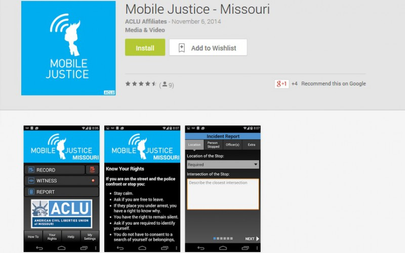 ACLU app
