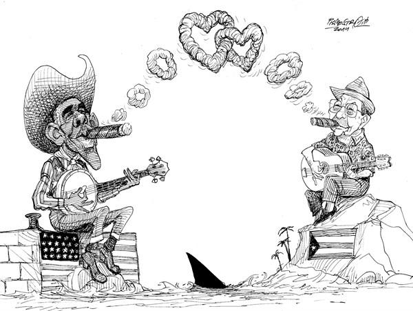 karikatur für tribüne-neue liebe