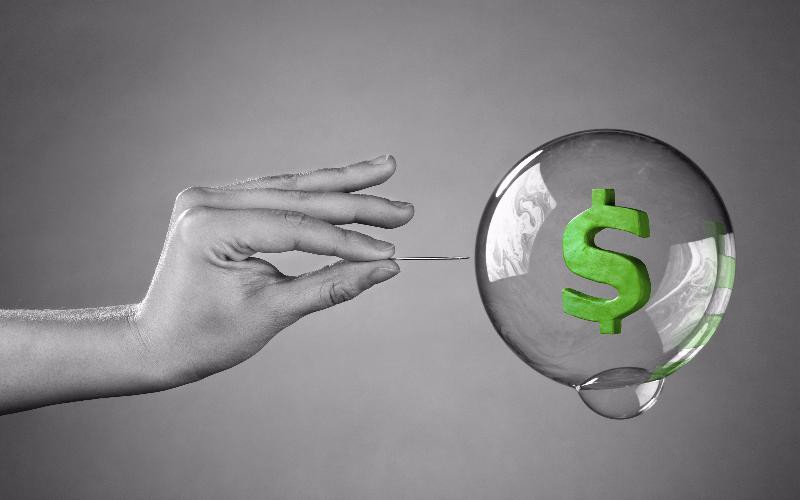 dollar bubble about to burst