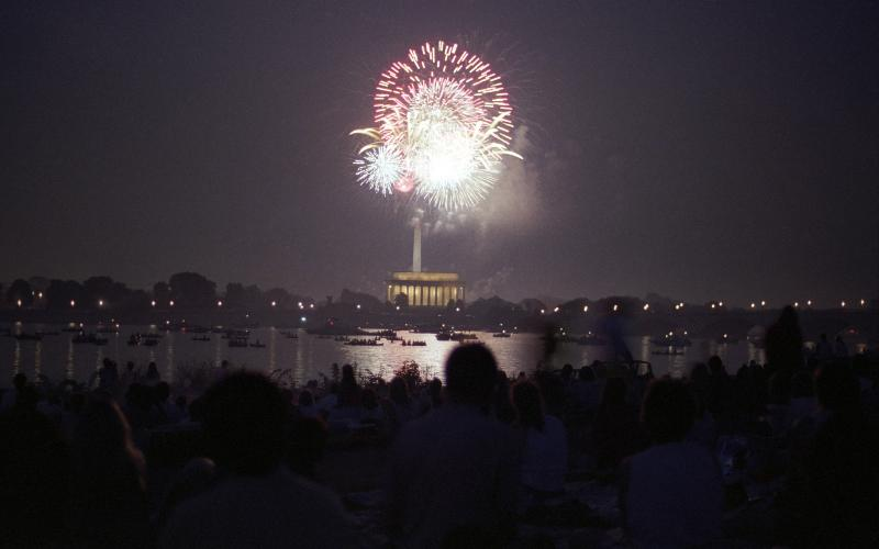 Independence Day celebration in Washington