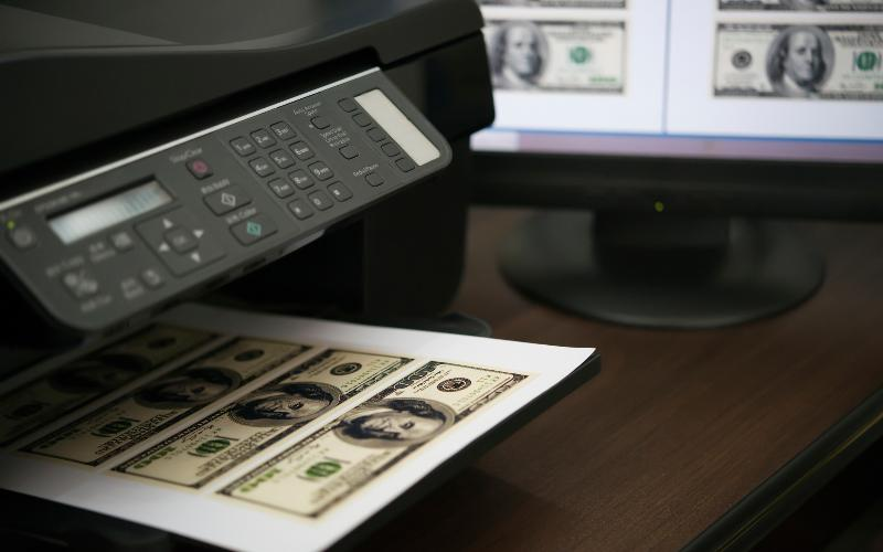 paper for printing counterfeit money Enough money that they can detect many counterfeits simply by feeling the  texture, and paying attention (the paper that bank notes are printed on is not sold.