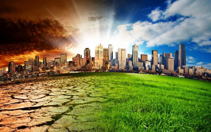 climate change concept