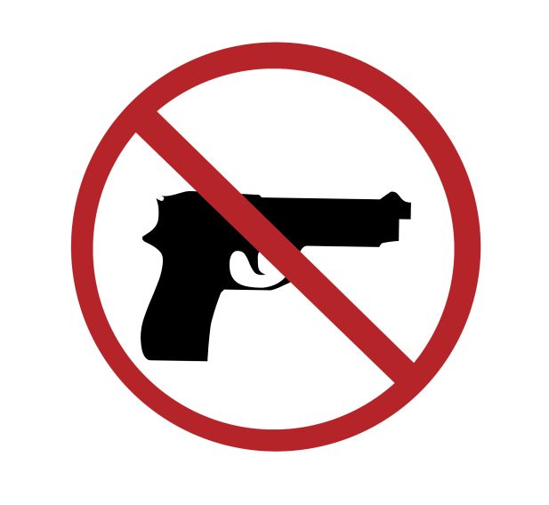 sign - no guns