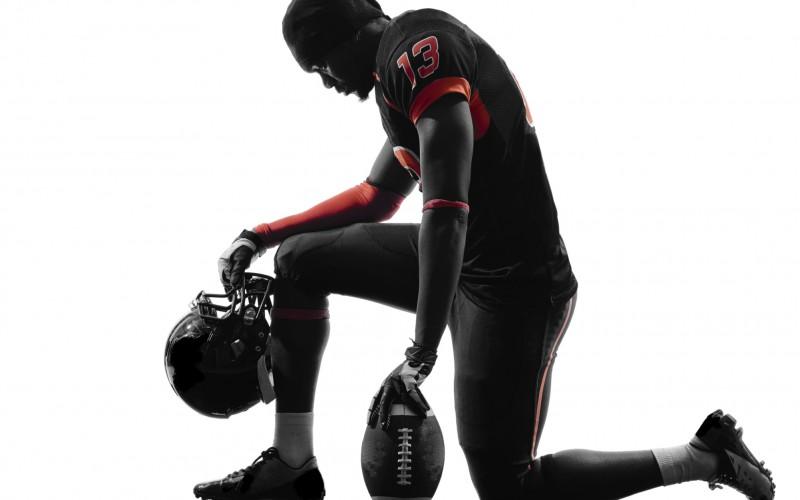 Leading A High School Football Team In An On Field Prayer