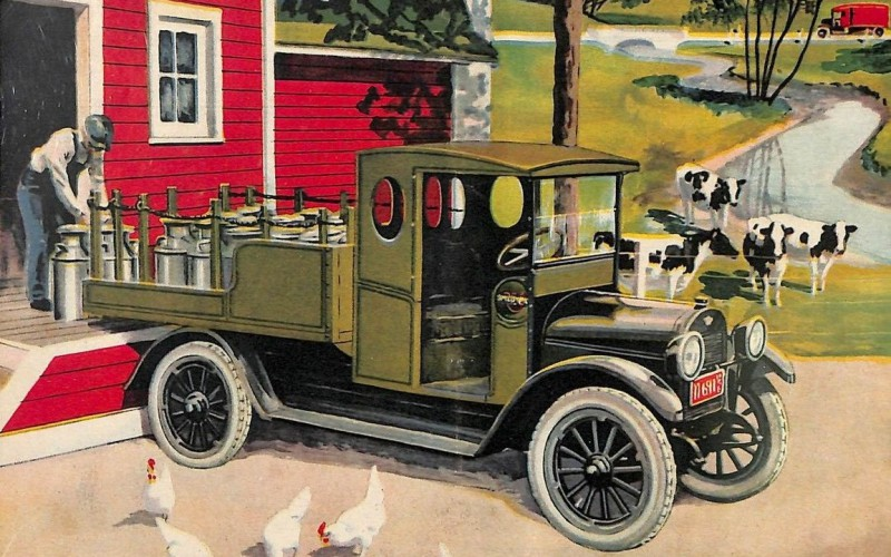 ad for Reo Truck