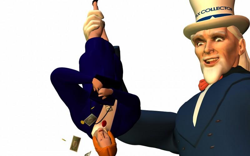tax man cometh
