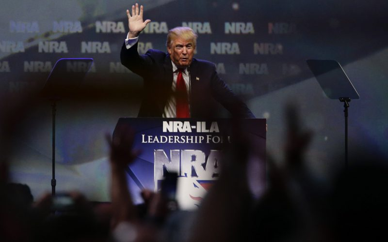 'You have a true friend,' Trump tells NRA
