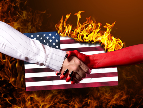 America's deal with the devil concept