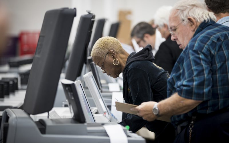 Voters face machine problems, long lines in some states