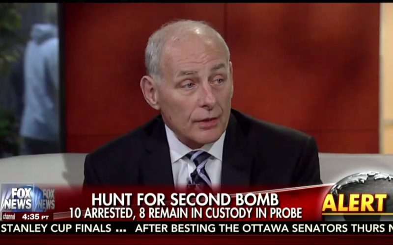 DHS Chief Sows More Terrorism Fears to Kick Off Your Holiday Weekend