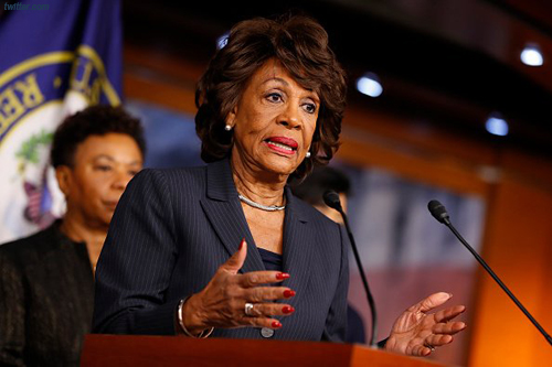 Maxine Waters Claims Putin Came Up With 'Lock Her Up,' 'Crooked Hillary'