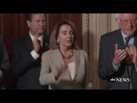 Pelosi advises Trump: 'Go to sleep'