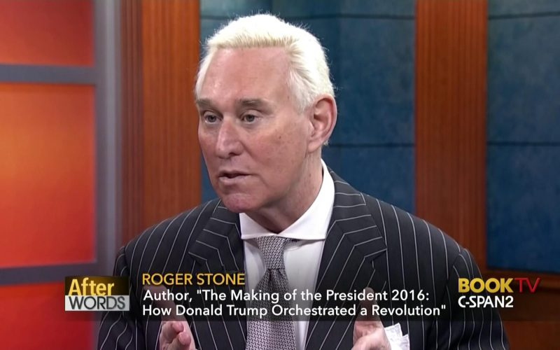 Stone Threatens Violence if Trump is Impeached