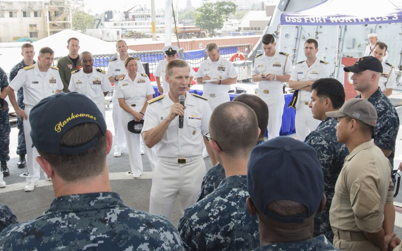 US Navy identifies 1 dead, 9 missing sailors