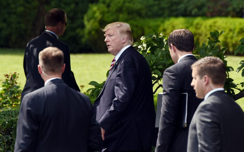 Trump family drains funds of Secret Service