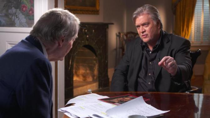Steve Bannon's Irish ancestor was undocumented, Trevor Noah finds