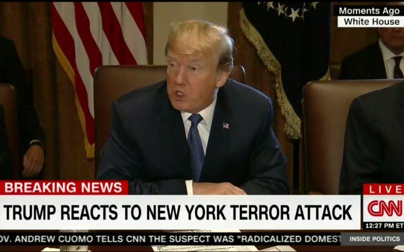 After NYC Terror Attack, Trump Vows to End 'This Craziness'
