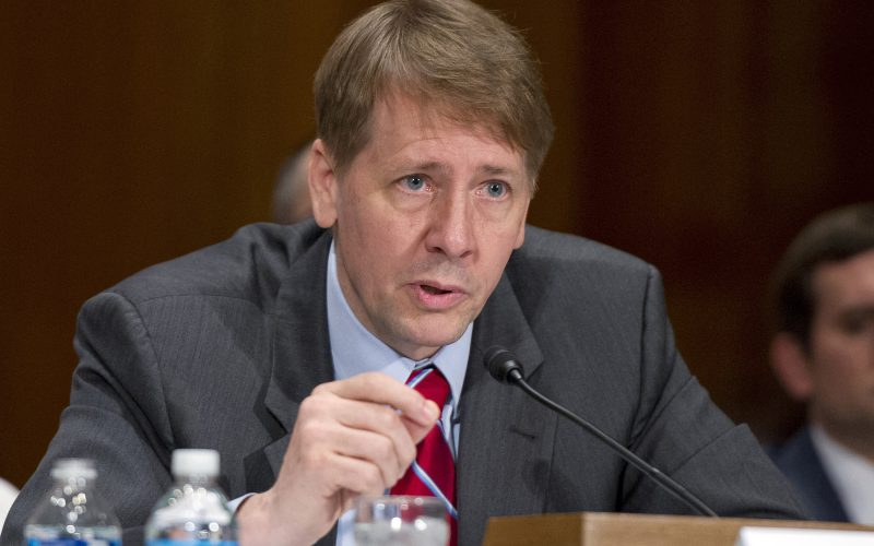 CFPB Director Cordray To Step Down