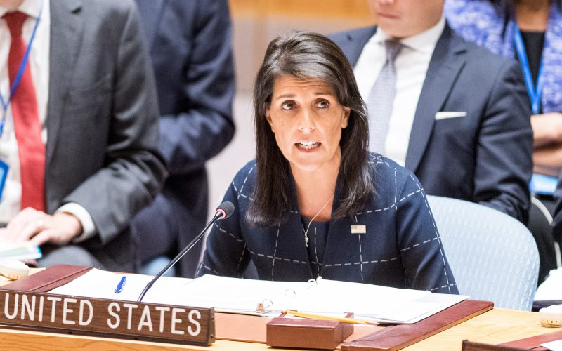 USA  calls for Friday UN Security Council meeting on Iran