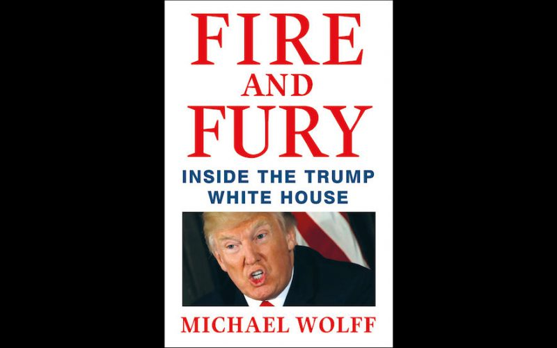 Author says can't be sure his Trump book all true