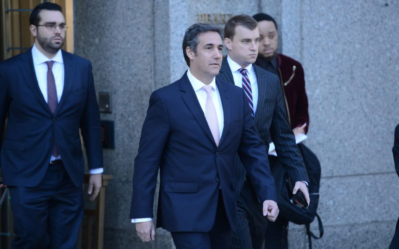 Cohen parting ways with lawyers as widening federal probe continues