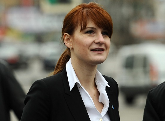 Why is Maria Butina in prison?