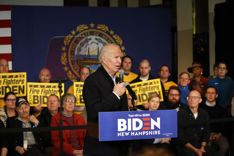 Jill Biden confronts heckler during husband Joe's rally in New Hampshire
