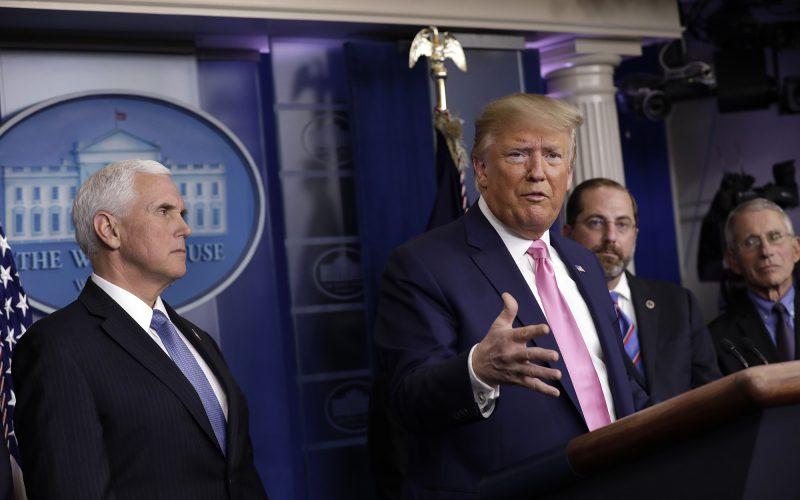 Trump to give update on USA response to coronavirus